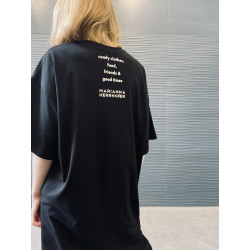 MH SLOGEN BACK SHIRT