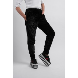 HEF TROUSERS-BLACK